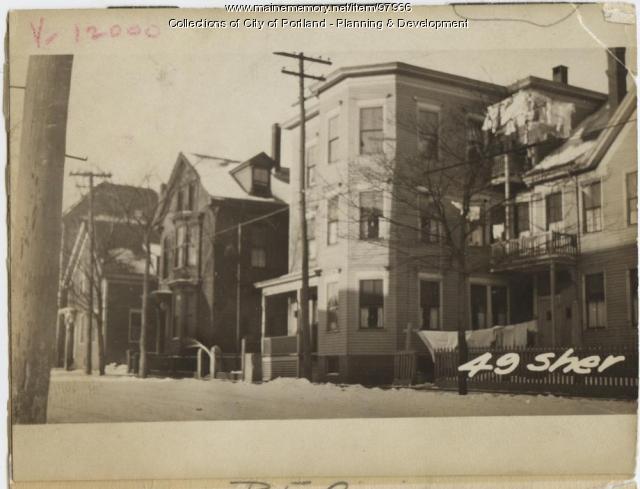 49 Sheridan Street, Portland, 1924