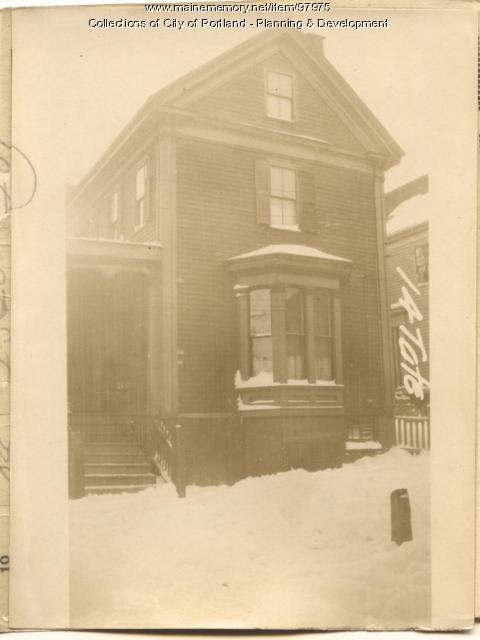 14 Tate Street, Portland, 1924