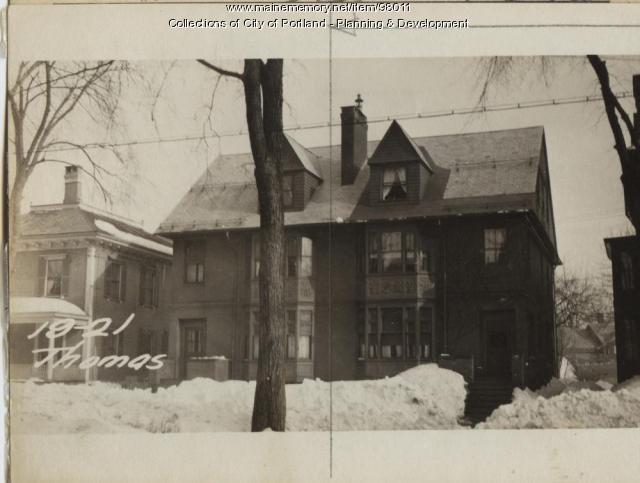 19 Thomas Street, Portland, 1924