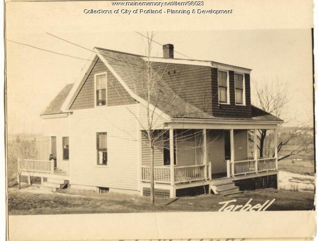 Dwelling, Tarbell Avenue, Portland, 1924