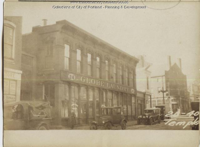 26 Temple Street, Portland, 1924
