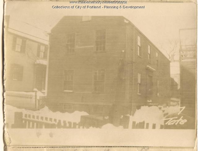 7 Tate Street, Portland, 1924