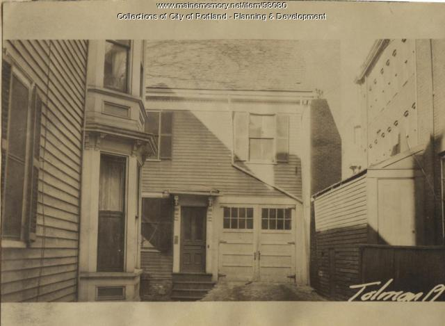 5 Tolman Place, Portland, 1924