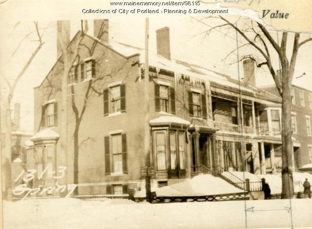 131 Spring Street, Portland, 1924