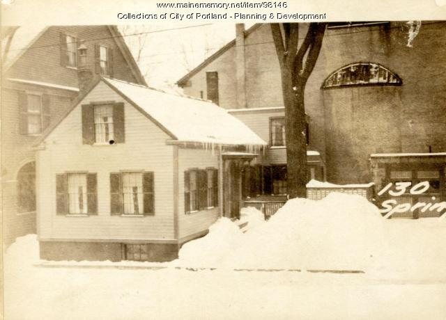 130 Spring Street, Portland, 1924
