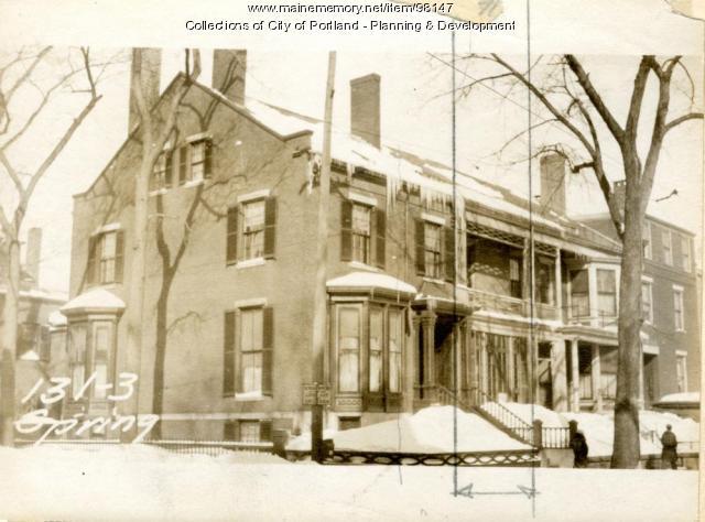 133 Spring Street, Portland, 1924