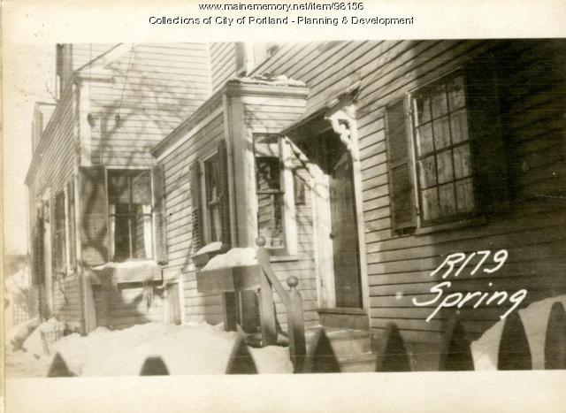 179 Spring Street, Portland, 1924