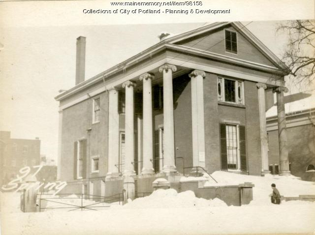 95-107 Spring Street, Portland, 1924