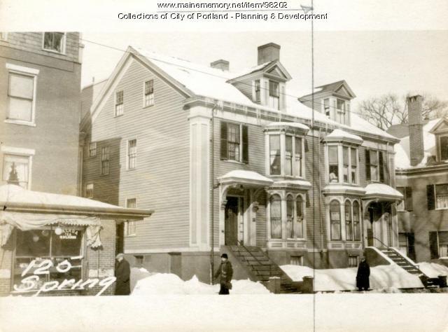 127 Spring Street, Portland, 1924