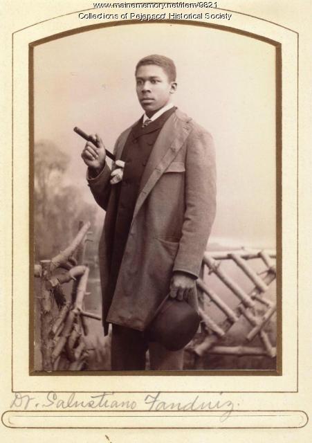 Dr. Salustiano Fanduiz, Brunswick, ca. 1895