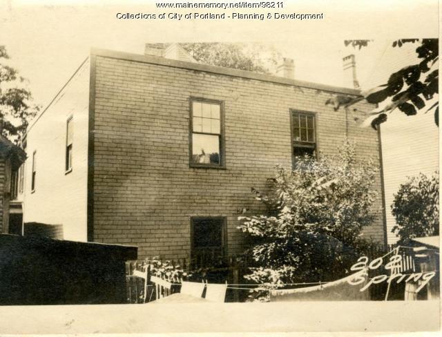 202 Spring Street, Portland, 1924