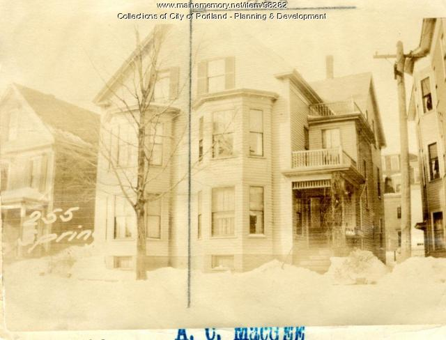 253 Spring Street, Portland, 1924