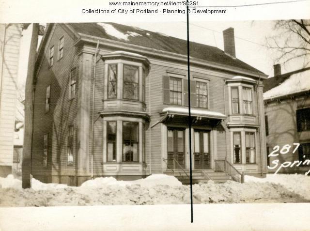 285-287 Spring Street, Portland, 1924