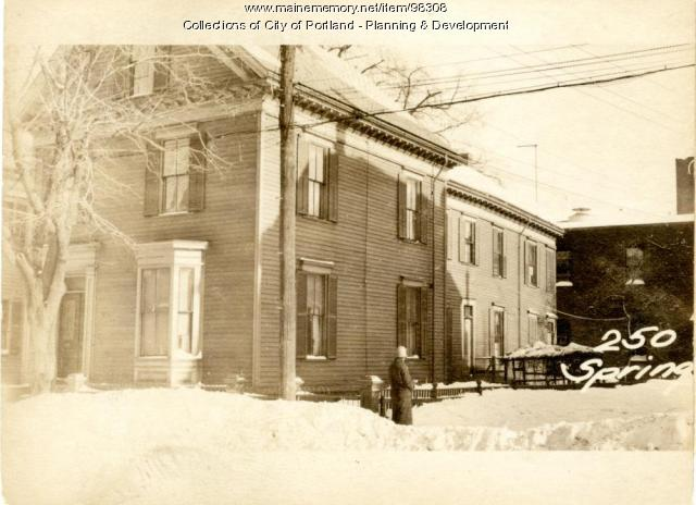 250 Spring Street, Portland, 1924