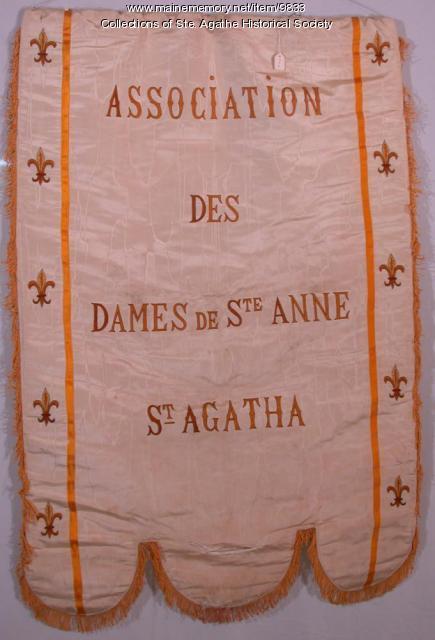 Dames de Ste. Anne Banner