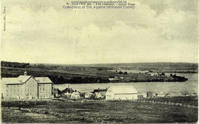 La Pointe A Malcolm, St. Agatha, ca. 1910