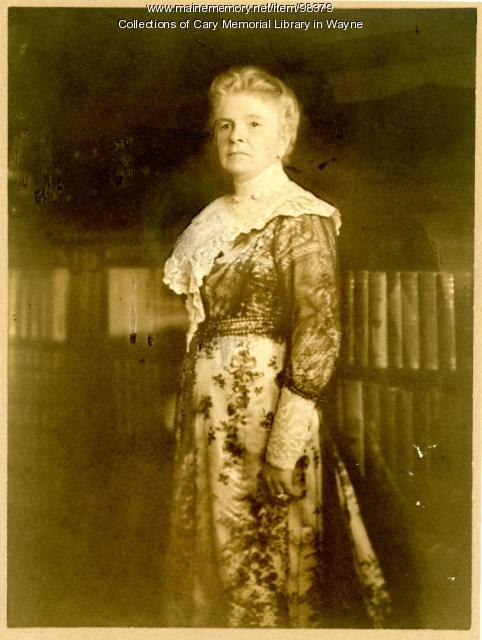 Annie Louise Cary Raymond, ca. 1915