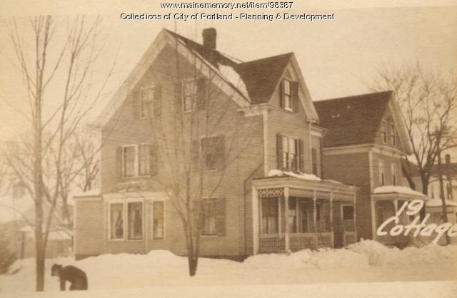 19 Cottage Street, Portland, 1924