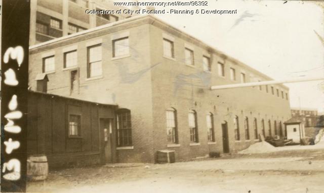 45 Water Street, Portland, 1924