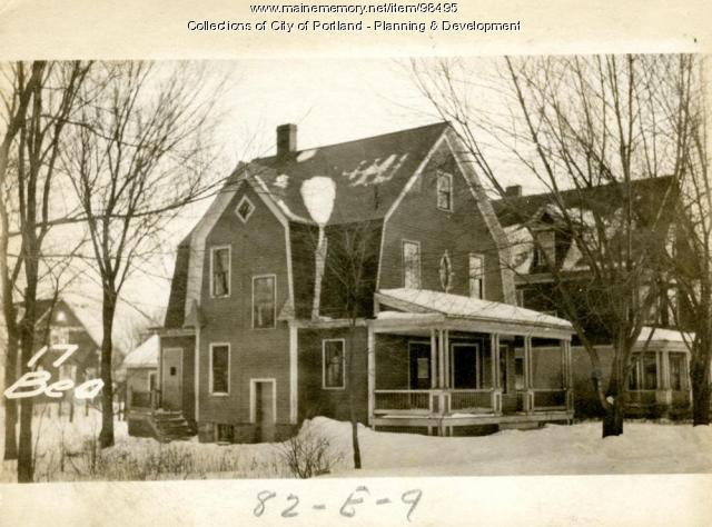 13-15 Beacon Street, Portland, 1924