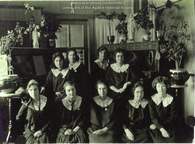 Art & Music Class, St. Agatha, 1924