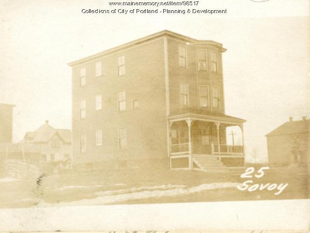 23-25 Savoy Street, Portland, 1924