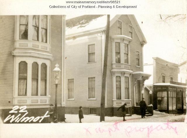 20-22 Wilmot Street, Portland, 1924