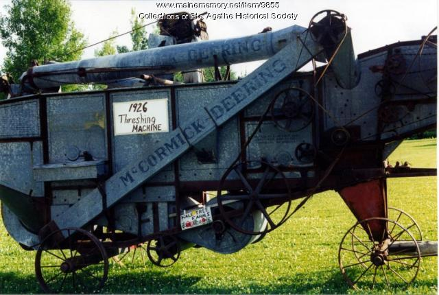 1926 McCormack Threshing Machine