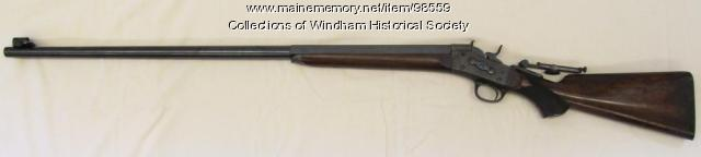Gambo Powder Mills test rifle, Windham, ca. 1860