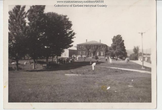 Holman Family Reunion, Dixfield Common, 1938