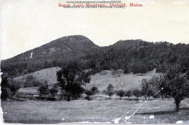 Sugarloaf Mountain, Dixfield, ca. 1900