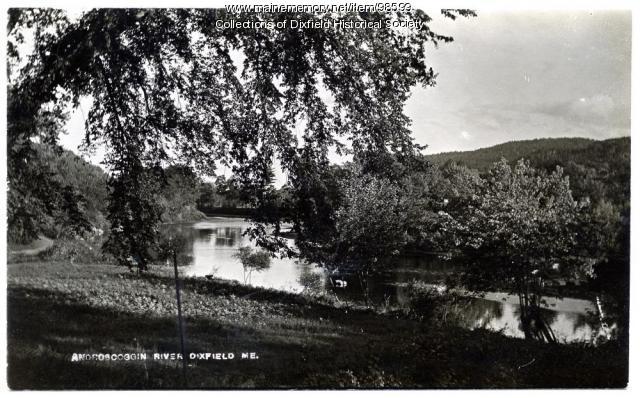Androscoggin River, Dixfield, ca. 1900