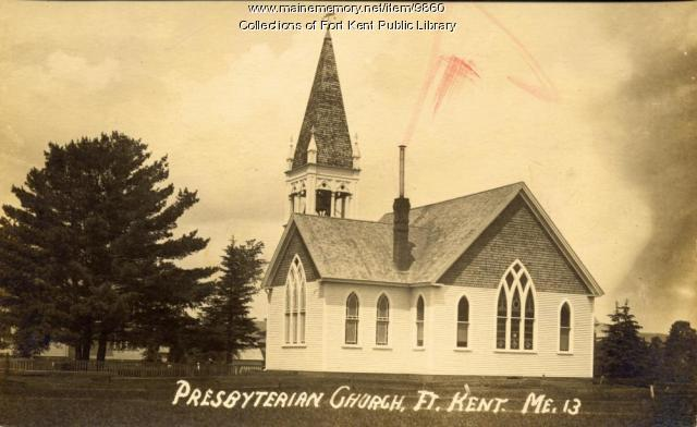Presbyterian Church, Fort Kent