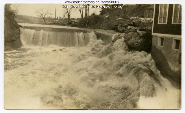 Webb River in Dixfield, ca. 1920