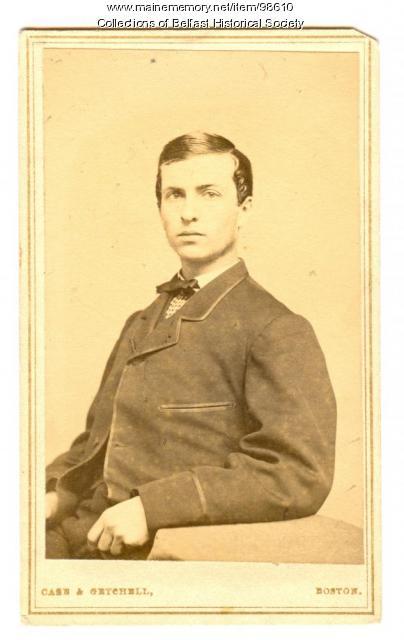 Albert Cargill Burgess, Belfast, ca. 1870