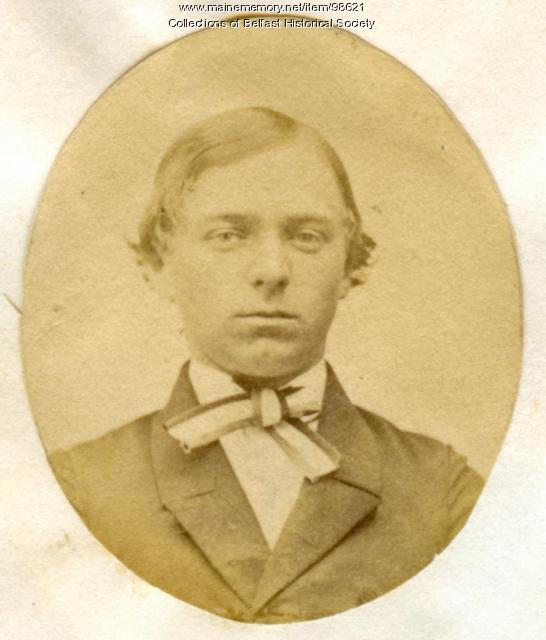 Frank W. Dickerson, Belfast, ca. 1860