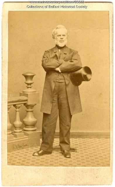 Phineas Parkhurst Quimby, Belfast, ca. 1860
