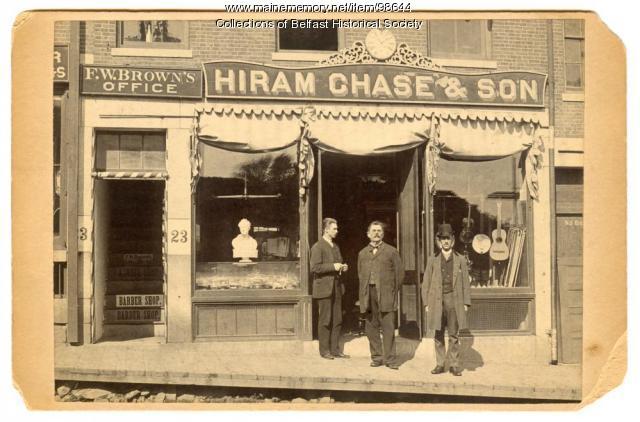 Hiram Chase & Son, Belfast, ca. 1895