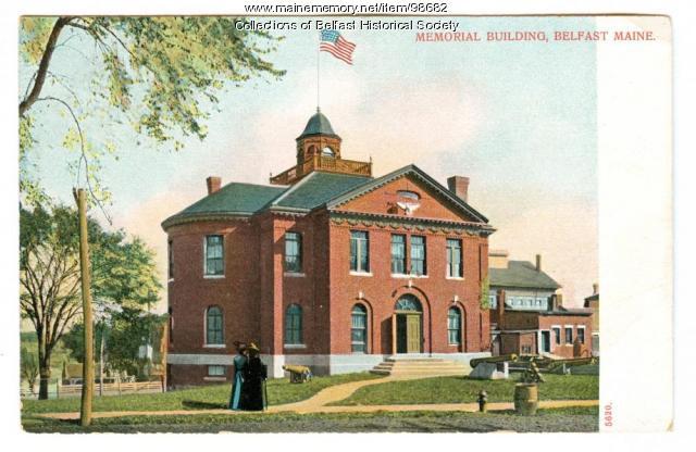 Memorial Building, Belfast, ca. 1900