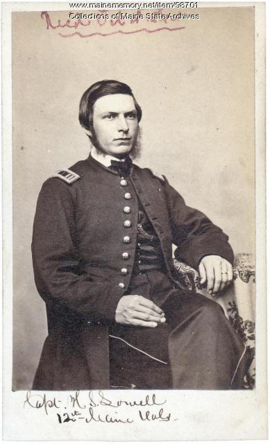 Hamilton S. Lowell, Windham, ca. 1861