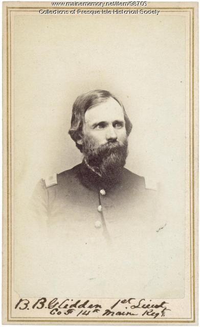 Barker B. Glidden, Presque Isle, 1861