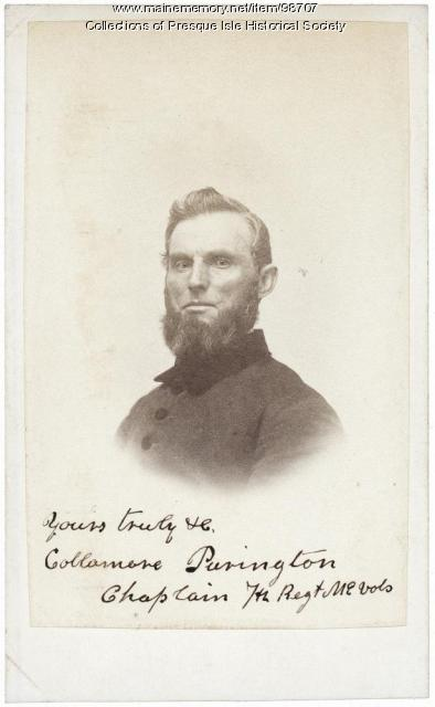 Reverend Collamore Purington, Presque Isle, 1861