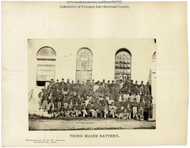 3rd Battery Light Artillery, Augusta, 1865
