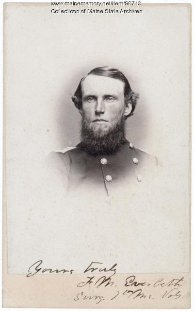 Francis M. Eveleth, Presque Isle, ca. 1861