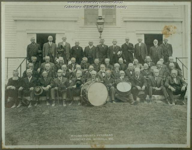 Waldo County Veterans Association reunion, Morrill, 1922
