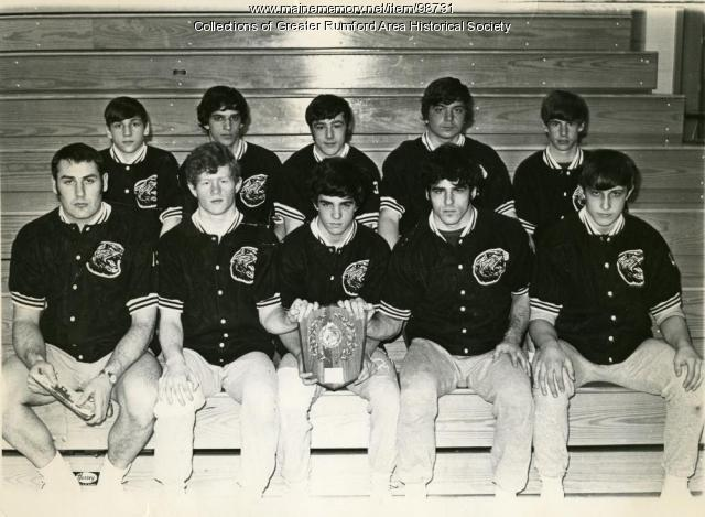 Rumford High School 1972 State Championship Team, ca. 1972
