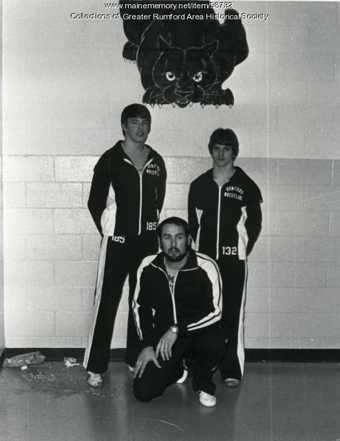 Rumford High School 1981 Wrestling Team Captain, Rumford