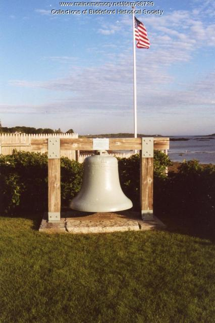 Wood Island Bell, Biddeford, 2001