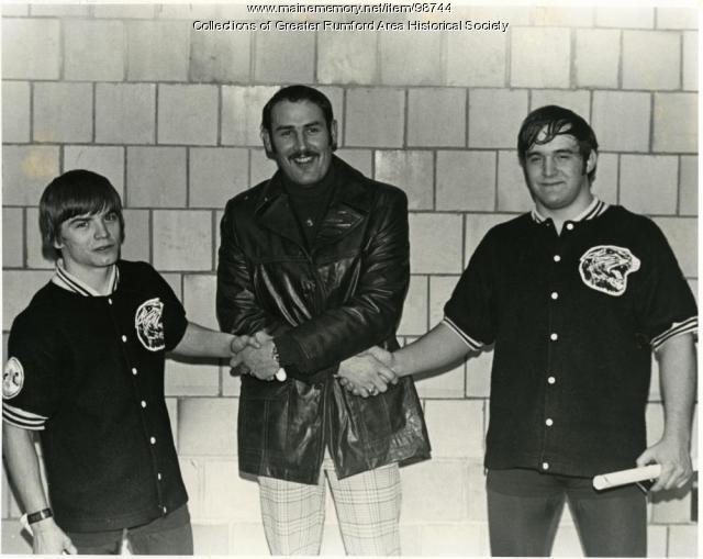 1976 Wrestling Team Captain, Rumford High School, Rumford