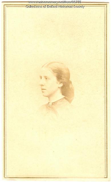 Arbella Johnson Hersey, Belfast, ca. 1870